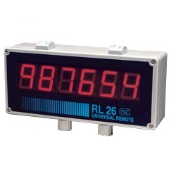 RL26 Universal Remote Display